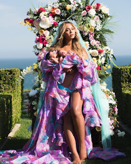 Beyonce and her twins