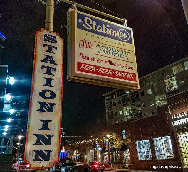 Bar de música country em Nashville: The Station Inn