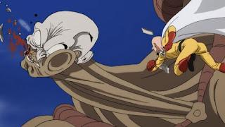 One-Punch Man Anime Cartoon on Cartoon Network's Toonami Block