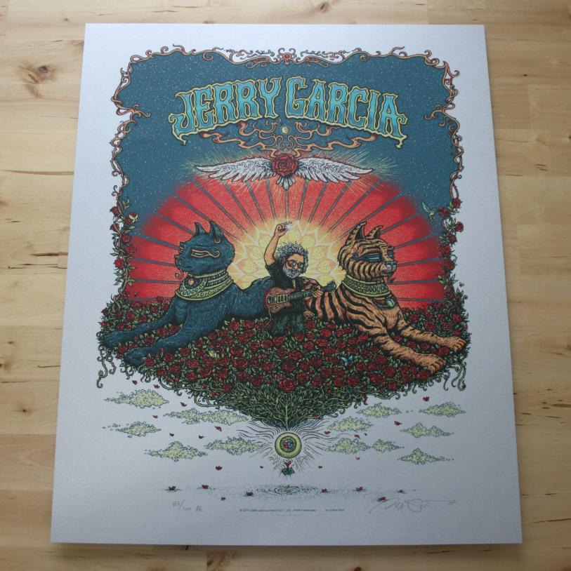 Inside The Rock Poster Frame Blog Marq Spusta Jerry