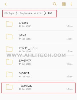 Cara Jitu Memasang Textures Game PPSSPP Android Dengan Mudah