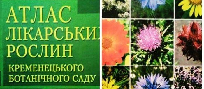 Унікальний атлас лікарських рослин презентували на Кременеччині