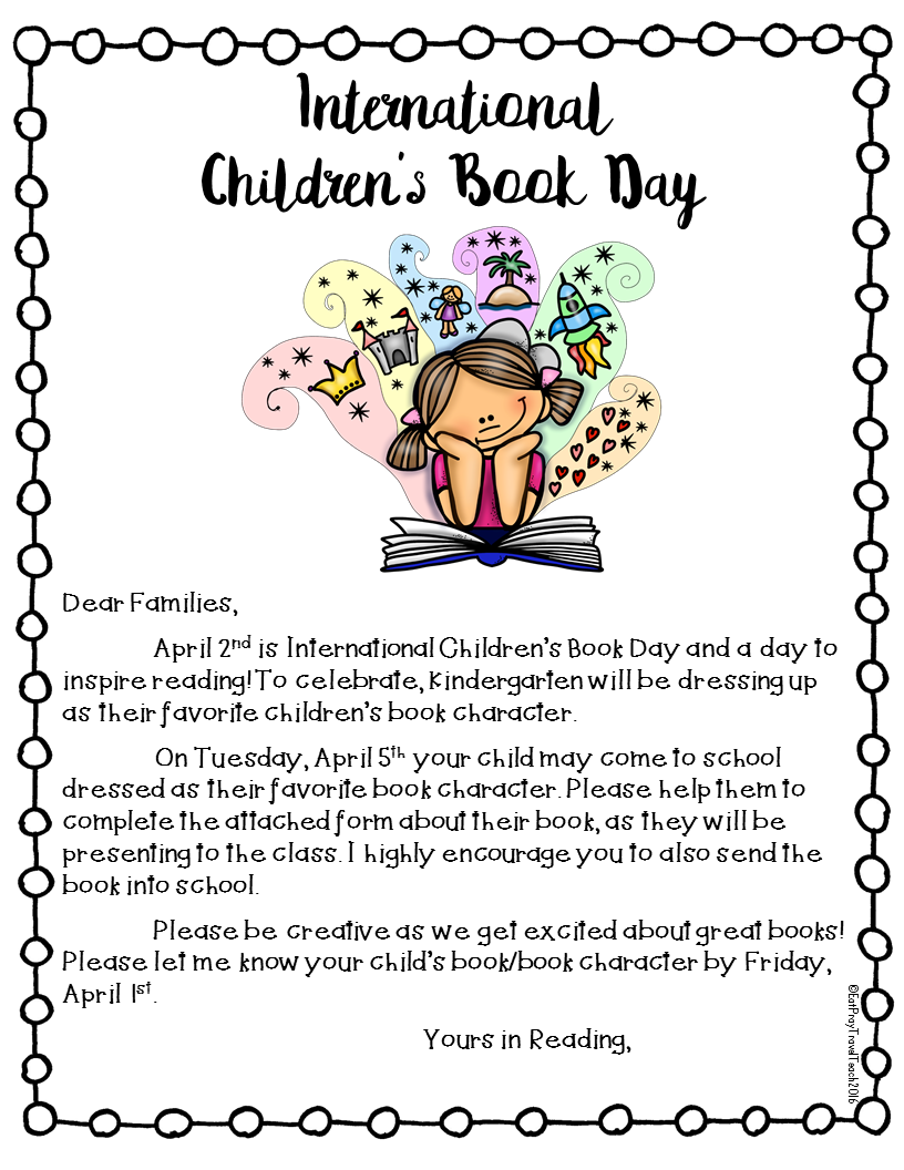 Eat.Pray.Travel.Teach.: Book Character Day