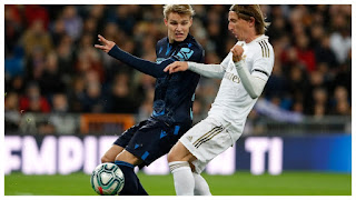 Real Madrid reportedly to keep Odegaard for 2020/21