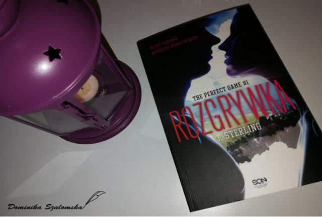 """#179 Nie do końca dobra rozrywka - Recenzja książki """"Rozgrywka"""" J. Sterling"""
