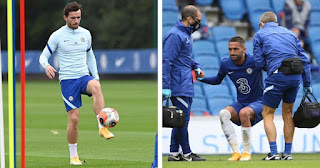 Chelsea injuries update: Ben Chilwell and Hakim Ziyech doubtful for Premier League opener