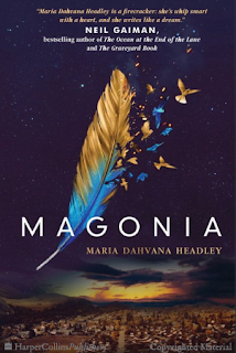 Magonia by Maria Dahvana Headley || Cover Love