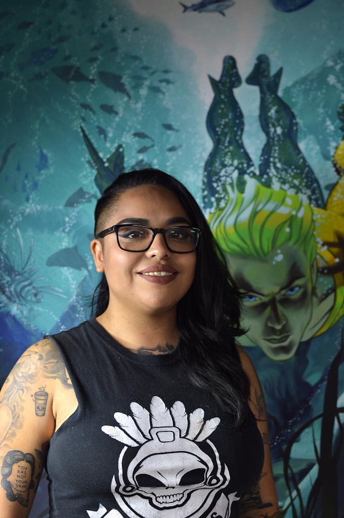 Una tatuadora con la creatividad en la sangre: Kadma Sixx