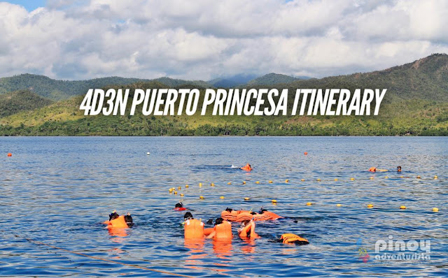Puerto Princesa Travel Guide Blogs Sample 4 Days Itinerary Palawan