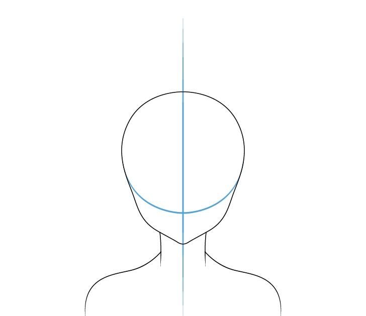 Gambar kepala gadis serigala anime