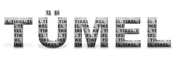 Tikel sözcüklerinden oluşan tümel kelimesi