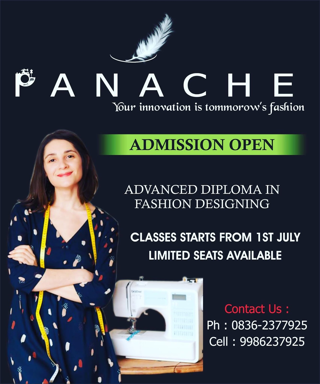 Admission Open For Fashion Designing Course