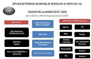 DOWNLOAD APLIKASI SKHU SD TAHUN 2020
