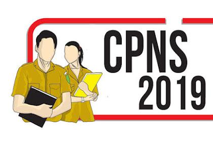 Pengumuman Menteri PANRB tentang Informasi Penerimaan CPNS Tahun 2019 di Lingkungan Pemerintah Pusat dan Daerah