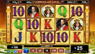 jocuri ca la aparate Versailles Gold