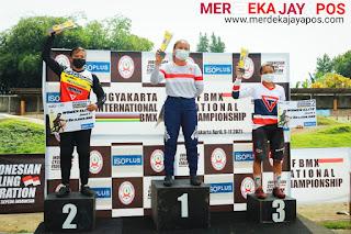 ICF BMX International Championship Round 2 Mempertandingkan 4 Kelas Ini Pemenangnya