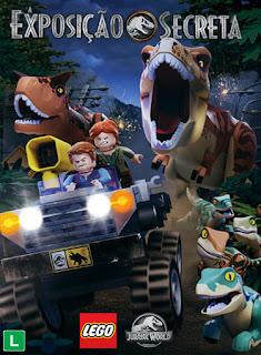LEGO Jurassic World: A Exposição Secreta - HDRip Dual Áudio