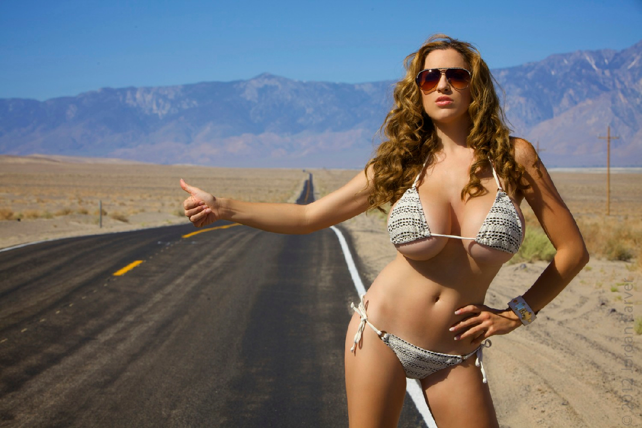 Sexy hitchhikers