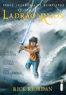 Resenha: Ladrao de Raios (Percy Jackson e os Olimpianos Vol.1) #Graphic Novel 11