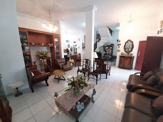 Ruang Keluarga Rumah second cantik mulus dan terawat dalam komplek Taman Asoka Asri di Jl. Flamboyan Simpang Pemda Medan