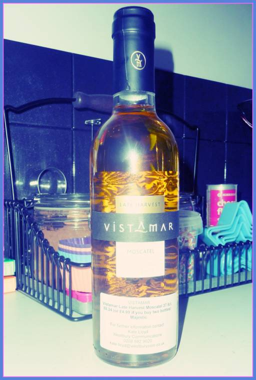 Vistamar Late Harvest Moscatel Wine Review