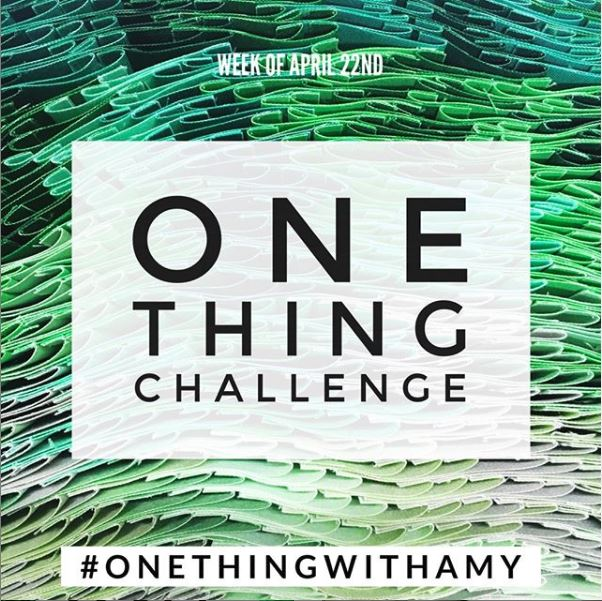 One Thing Challenge