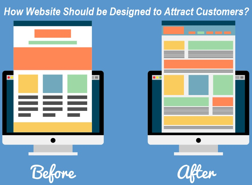How Website Should be Designed to Attract Customers