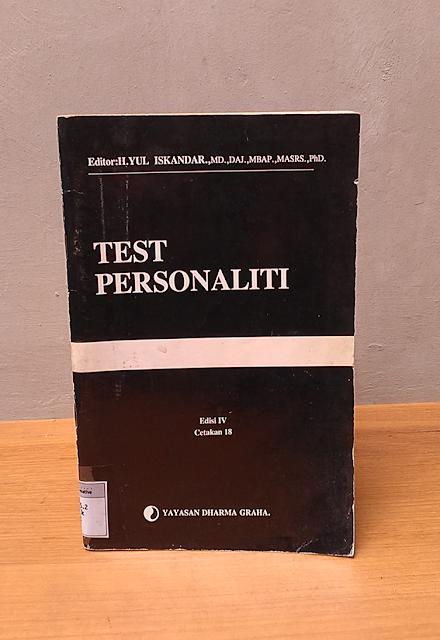 TEST PERSONALITI, Yul Iskandar