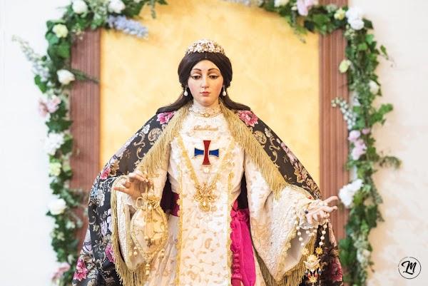 Algeciras bendice a la Patrona trinitaria en San José Artesano
