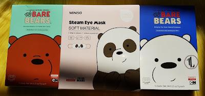 Miniso Masks - www.modenmakeup.com