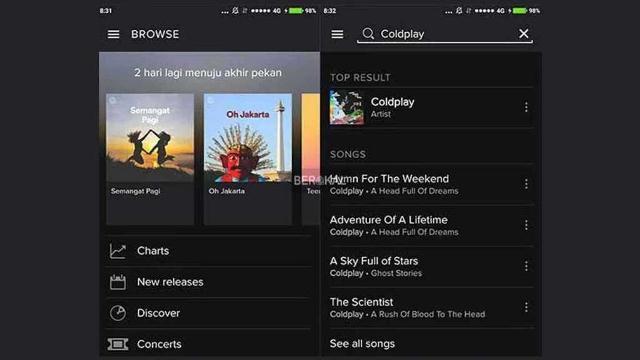Cara download lagu di Spotify Tanpa Premium
