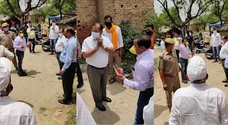जौनपुर : भूसा, खाद्यान्न वितरण कार्यक्रम में आयोजक पर खफा हुए DM, लौटे वापस, जानिए क्या है पूरा मामला | #NayaSabera