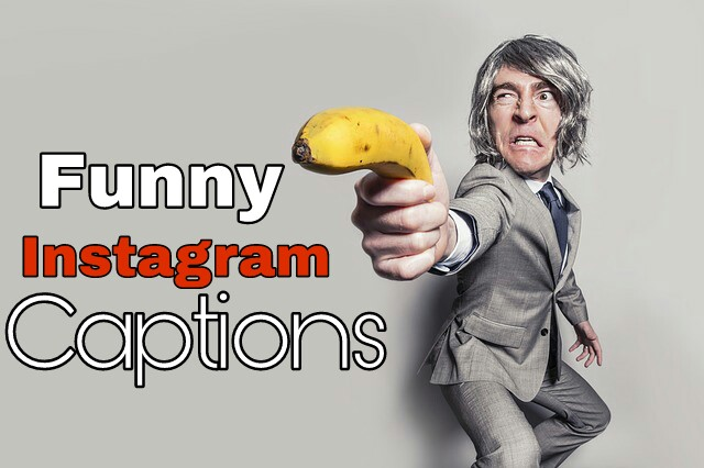Funny Instagram Captions for Selfies