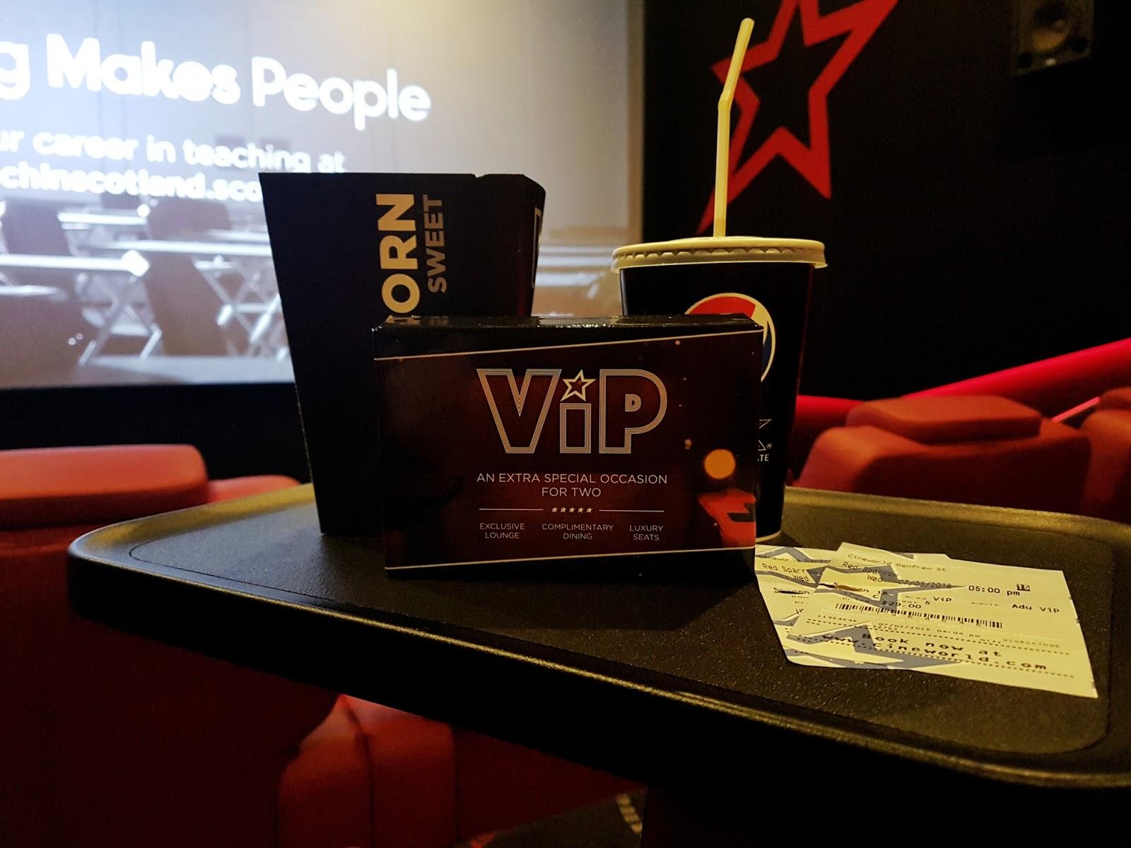 VIP Cineworld