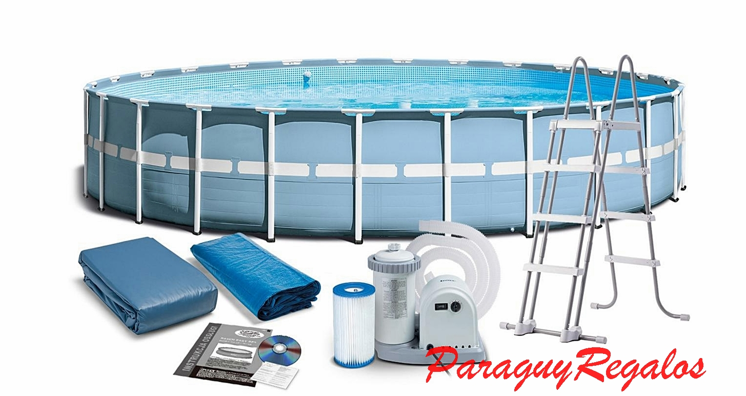 Paraguay regalos piscinas for Cubre piscina bestway