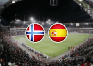 Норвегия – Испания  смотреть онлайн бесплатно 12 октября 2019 прямая трансляция в 21:45 МСК.