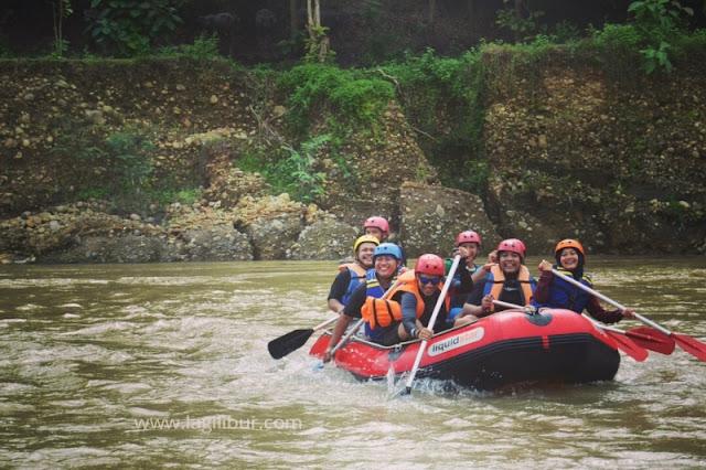 Rafting Sungai Bogowonto Purworejo