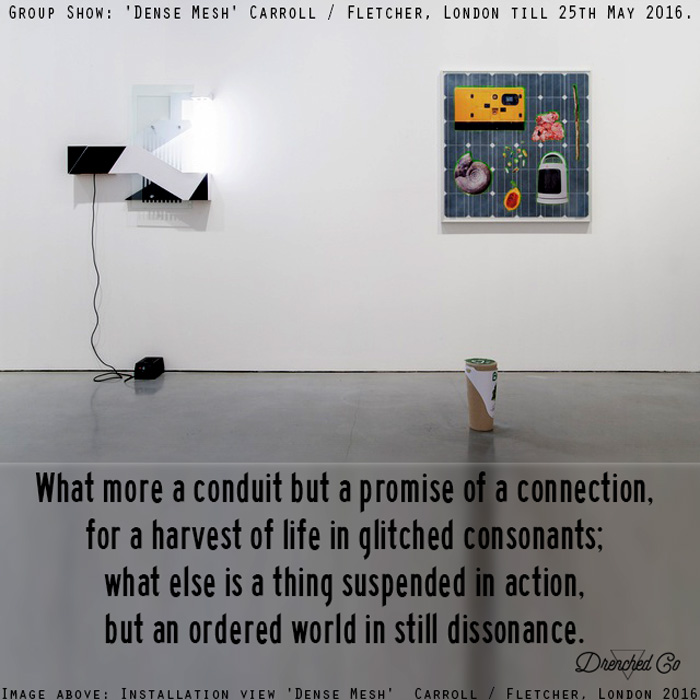 Image of Carroll / Fletcher, London with art exhibition review by Drenched Co.