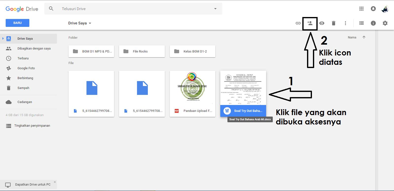 Cara Agar File Dalam Google Drive Dapat Di Akses Atau Di Download Oleh Publik Oppmi