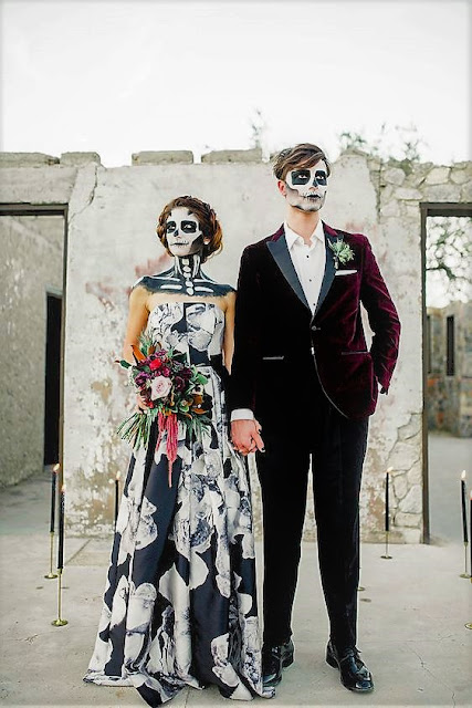Halloween dress to stare and scare-wedding ideas-Weddings by K'Mich-Philadelphia PA