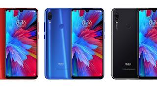 Redmi Note 7 स्माटफोन लॉन्च हो गया भारत में , 4000 mAh की बैटरी वाले इस फोन की कीमत मात्र ₹9,999 से शुरू !, Redmi Note 7 specifications