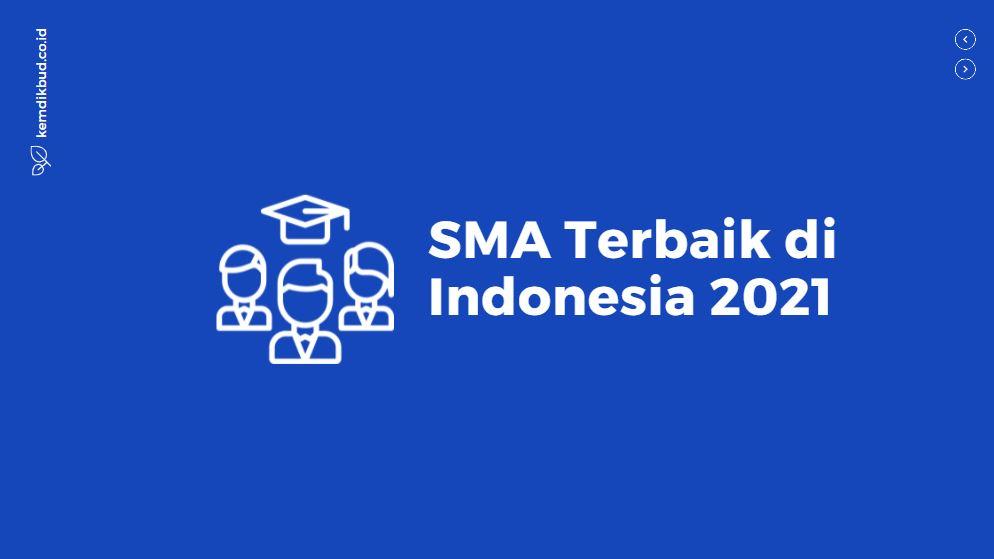 SMA Terbaik di Indonesia 2021