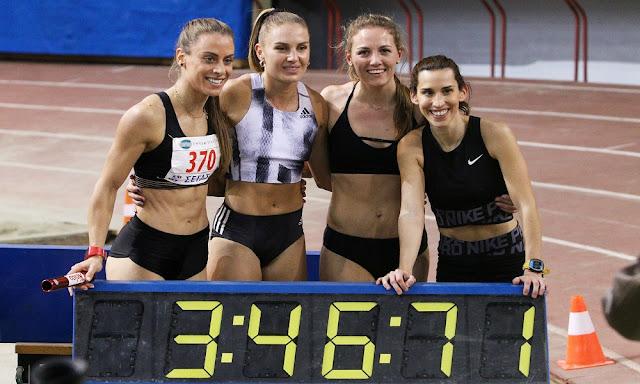 Τα χρυσά κορίτσια του ΣΔΥ Αργολίδας στα 4Χ400