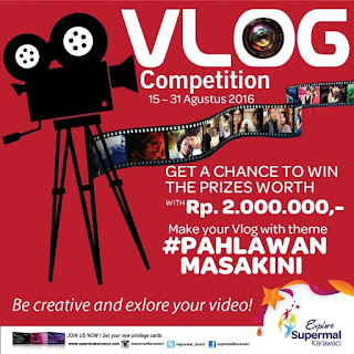 #PahlawanMasaKini Vlog Competition Supermal Karawaci (DL September 2016)
