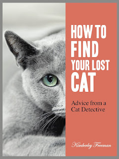 Kim Freeman, the Cat Detective at www.LostCatFinder.com