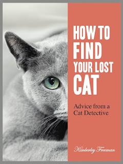 Kim Freeman, the Cat Detective at www.LostCatFinder.com