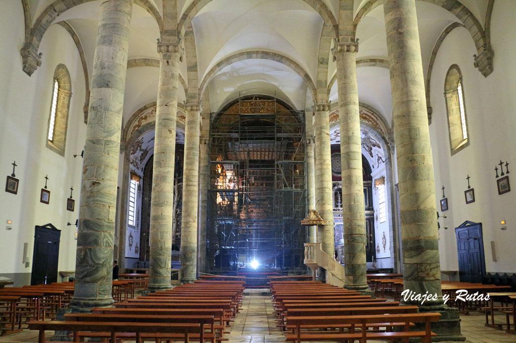Interior de Santa María del Castillo, Olivenza