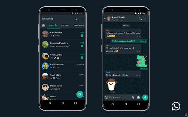 Cara Mengaktifkan Dark Mode (Mode Gelap) WhatsApp di Android dan iOS