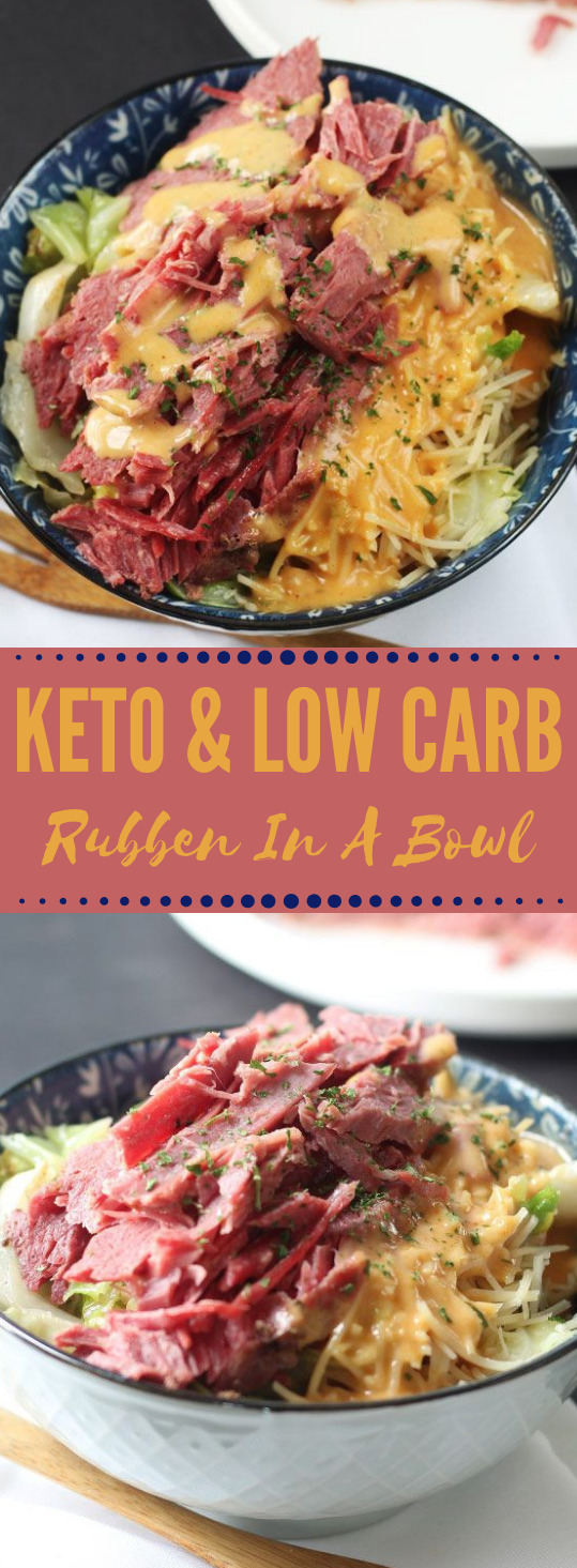 Keto & Low Carb Ruben In A Bowl #dietketo #healthyrecipes #lowcarb #whole30 #paleo