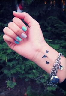 Tatuajes de mujeres, tatuajes de muñeca